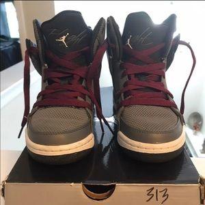 Nike Air Jordan SC-1 Gray/white 3.5Y